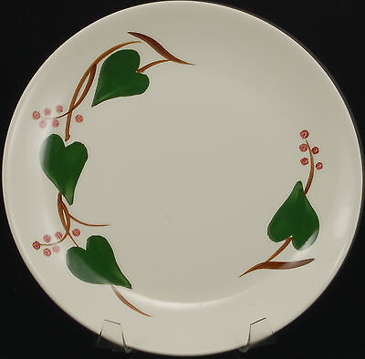 Blue Ridge Southern Potteries Stanhome Ivy Luncheon Plate VGC