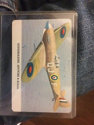 Card-o Chewing Gum Spitfire Card