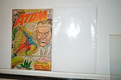 The Atom No.1-Dc/1962-Introducing Plant-Master/1St Appearance-Key Issue