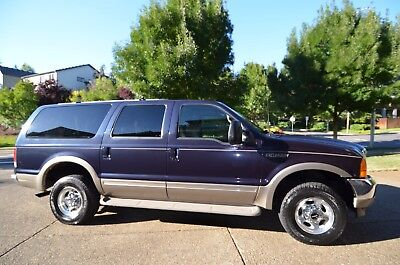2001 Ford Excursion Limited 4X4 8 Passenger 2001 Ford Excursion Limited Luxury 4WD 4DR SUV