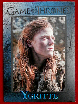 GAME OF THRONES - Season 4 - Card #37 - YGRITTE - Rittenhouse 2015