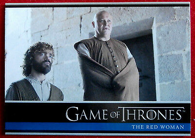 GAME OF THRONES - Season 6 - Card #02 - THE RED WOMAN B - Rittenhouse 2017