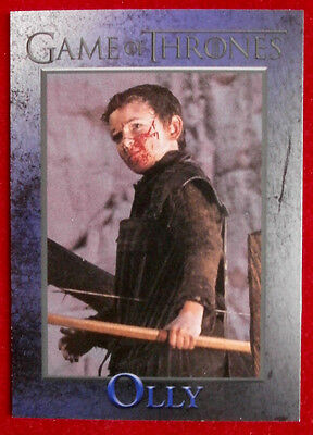 GAME OF THRONES - Season 4 - Card #97 - OLLY - Rittenhouse 2015