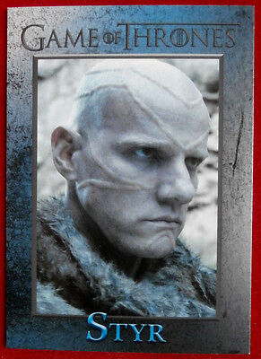 GAME OF THRONES - Season 4 - Card #83 - STYR - Rittenhouse 2015