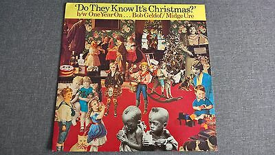 BAND AID - DO THEY KNOW IT'S CHRISMAS ?     Vinyl 12'' SP.