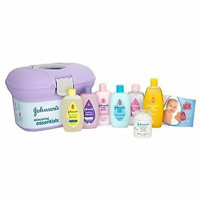Johnson's Baby Skincare Essentials Box 300ml Bottles All Sealed. 8 Products New