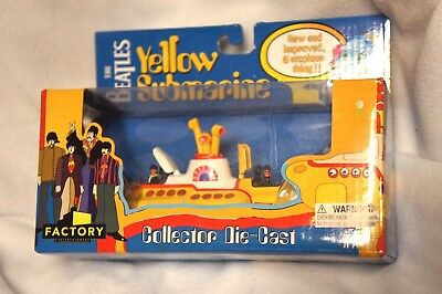The Beatles Yellow Submarine Collector Die Cast Factory Entertainment 2013