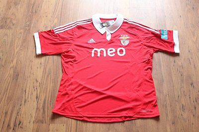 S.l. Benfica Home Football Shirt 2012/13 Portugal Size Large L Bnwt Uk Seller!!!