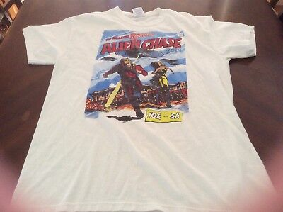 The Amazing Roswell Alien Chase 2014 Tshirt Size M