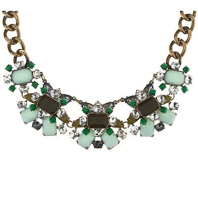 """Joan Rivers Jeweled Couture 18"""" Statement Necklace w/ 3"""" Extender"""