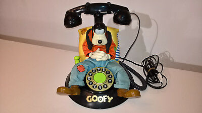 Vintage Collectable Disney Goofy Animated Telephone - Working VGC