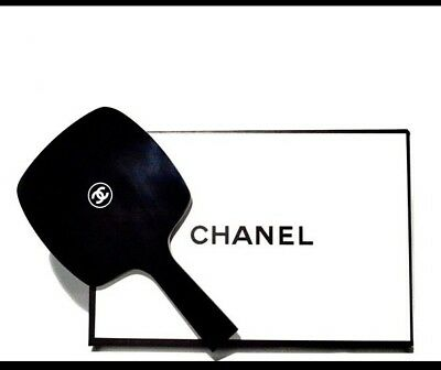 CHANEL ☾VIP Gift☽ Makeup Mirror Large Size Limited Edition Glossy Black With BOX
