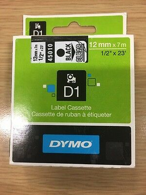 Dymo D1 Standard Self-Adhesive Labels For LabelManager Printers, 12 Mm X 7 M -