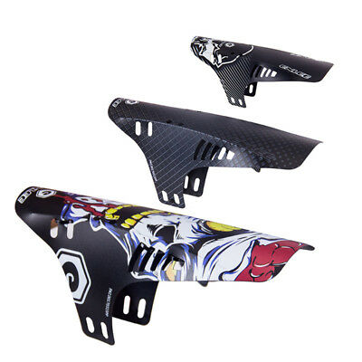 AL_ Mountain Bike Bicycle Road Tire Front Rear Mudguard Fender Mud Guard Kit Rak