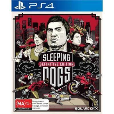 SLEEPING DOGS DEFINITIVE EDITION Sony Playstation 4 PS4 Game