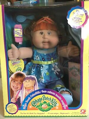 Cabbage Patch Kid Play Along Magic Touch ColorSilk - Angelina Julie