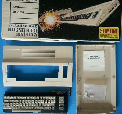 Commodore 64  Replacement Cases x 2. + Keyboard. C64