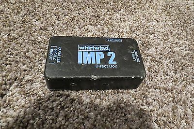 WHIRLWIND IMP 2 DIRECT BOX, Used