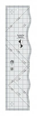 Creative Grids Curves For Squares Quilt Ruler