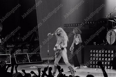 ted nugent  live concert 1980s vintage 35mm photo Negative  Fb11