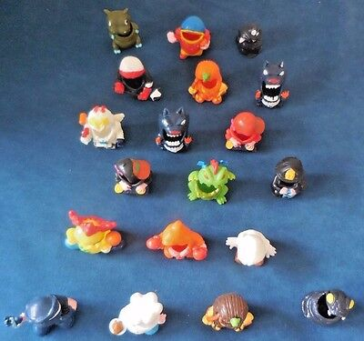 Mighty Beanz BODZ 19 Costume Outfits LOT Beans