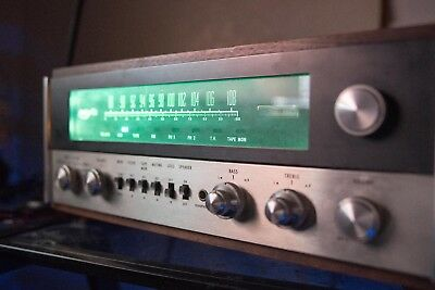 McIntosh MAC 1700 Stereo Receiver with wood case, Serviced, Working, Tested