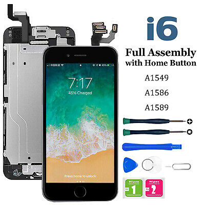 Model A1549 A1586 Screen Replacement+LCD Digitizer Assembly Kit lot for iPhone 6