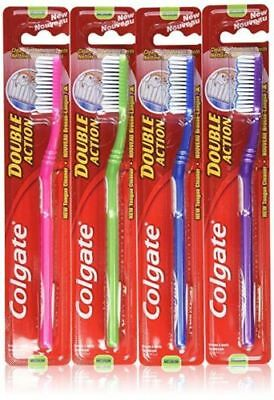 NEW Colgate Toothbrush Double Action Medium -Individual