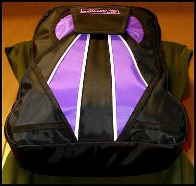Skydiver Syndrome Backpack Parachute Mini Container Rig Gym Book Bag Purple S06