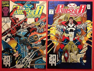 PUNISHER 2099 Lot 1 4 9 10 12 16 17 Daredevil Thor Wolverine 7 issues