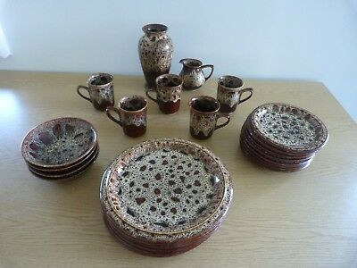 Fosters Pottery - Cornwall - collection of items