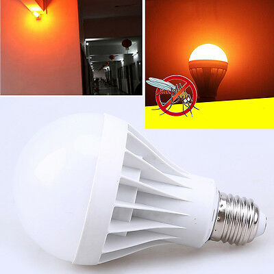 Insects LED Blub Anti Mosquito Light Bulb Lamp Flying Insects Moths Killer 220V
