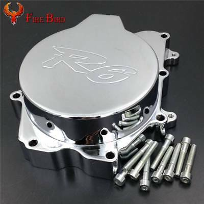 Engine Stator Cover For 2003-2009 Yamaha YZF R6 03 04 05 06 07 08 09 Chrome