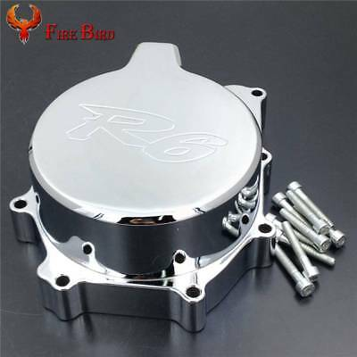 Aluminum Engine Stator Cover Side For Yamaha 1999-2002 YZF R6 2000 2001 2002
