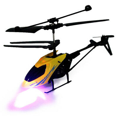 Mini Helicopter 901 Radio Remote Control Aircraft 2.5CH Kids Gifts Music LED HOT