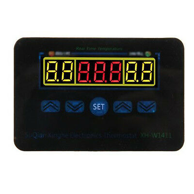 12V/220V Digital LED Temperature Controller Thermostat Control Switch Probe PLC