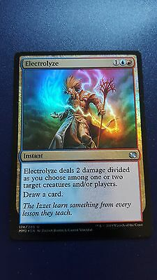 1x FOIL ELECTROLYZE - Rare - Modern Masters - MTG - NM - Magic the Gathering