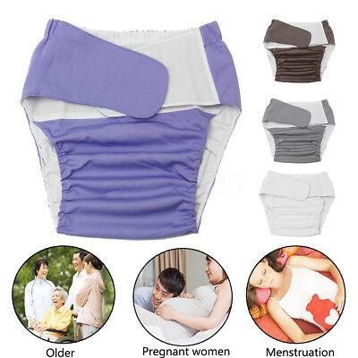 Waterproof Washable Teen Adult Cloth Diaper Bedwetting Incontinence Nappy Pants