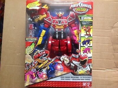 Power Rangers Dino Supercharge Dino Charge Megazord