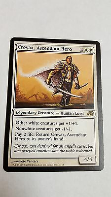 1x CROVAX, ASCENDANT HERO -Rare - Planar Chaos - MTG - NM - Magic the Gathering