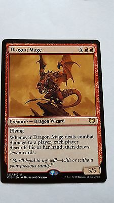 1x DRAGON MAGE - Rare - Commander - MTG - NM - Magic the Gathering