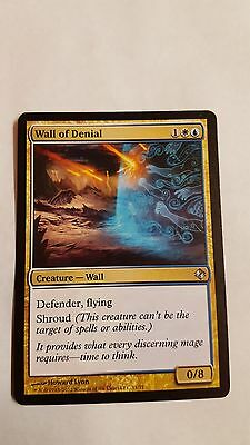 1x WALL OF DENIAL - Rare - Duel Deck/Modern Master MTG  NM - Magic the Gathering