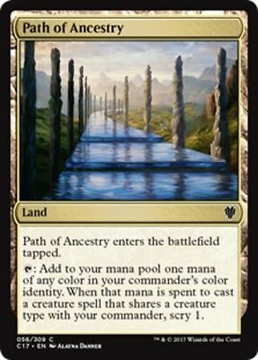 1x PATH OF ANCESTRY - Rare - Commander - MTG - Magic the Gathering
