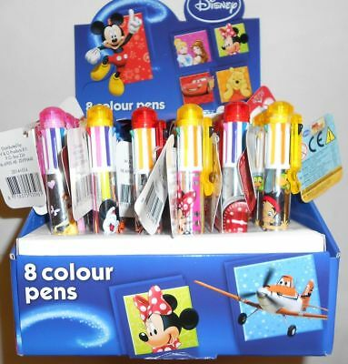 8 Farbenstift Minnie Mouse, Prinzessin, Mickey Mouse, Cars, Jake Disney Kinder