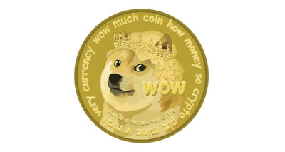 DOGE Cryptocurrency Dogecoin 200