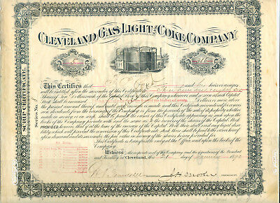 Cleveland Gas Light & Coke Company 1890