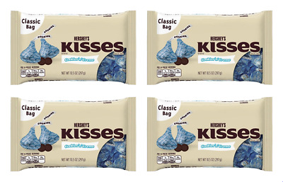 904043 4 x 297g CLASSIC BAGS OF HERSHEY'S KISSES COOKIES 'N' CREME FLAVOR - USA