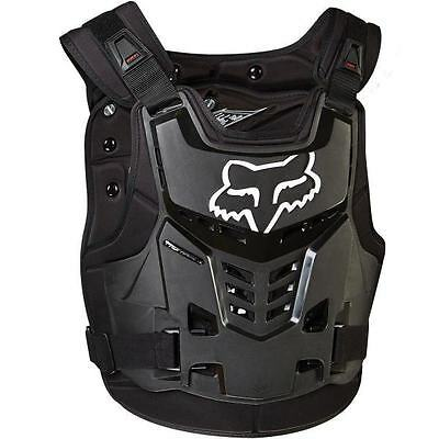 NEW FOX RACING PROFRAME Adult Body Armour BLACK Chest Protector Motocross