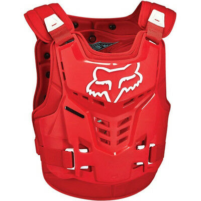 NEW Fox Racing ProFrame Kids Youth Armour RED Chest Protector MX Motocross