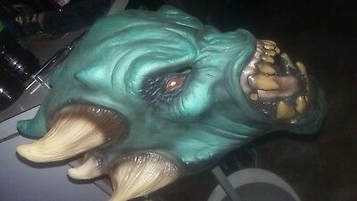 Halloween Adult Horror Alien Quality Painted Latex Adult Mask